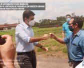 Governador Helder Barbalho entrega passarela de concreto e Lancha para a PM em São Sebastião da Boa vista